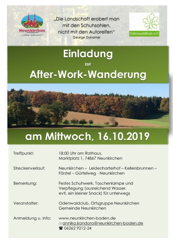 thumbnail of After-Work-Wanderung 16.10.2019
