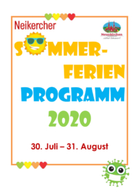 thumbnail of Neikercher Summer – Programmheft 2020