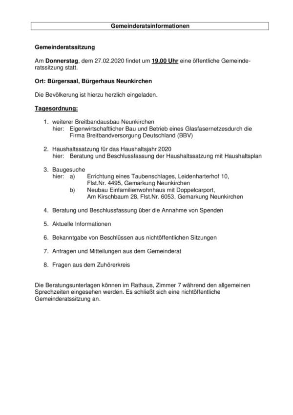 thumbnail of Tagesordnung 27.02.2020