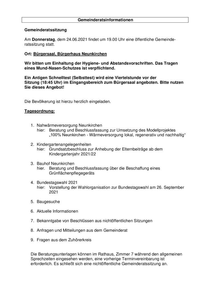 thumbnail of Tagesordnung Amtsblatt